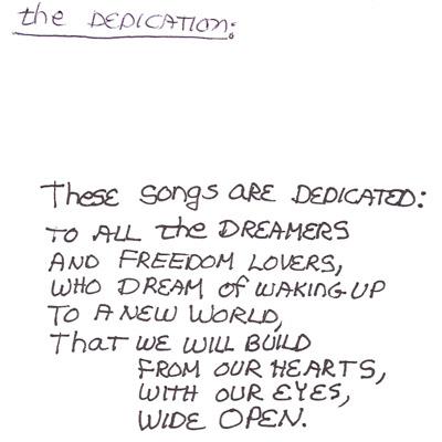 The Dedication